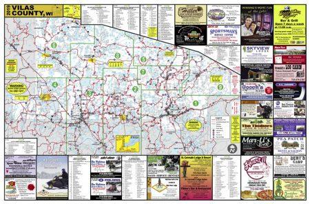 Eagle river wisconsin snowmobile trail report